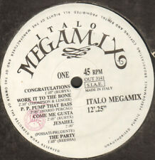 VARIOUS ‎– Italo Megamix - 1988 Out ‎– 3141 - - Technique Mixte By LUKE Acid C