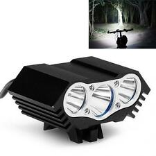 10000LM 3 x CREE T6 LED 4 Modes USB Cycling Bicycle Light Headlight US Shipping