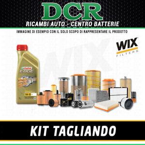 KIT TAGLIANDO HYUNDAI TUCSON 1.7 CRDI 85KW 116CV DAL 06/2015 + CASTROL 5W30