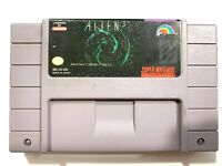 *** ALIEN 3 - SUPER NINTENDO SNES GAME - Tested Working & Authentic! ***