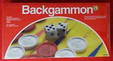 Pressman Toy, Backgammon Folding Classic Board Game, Brand New, Free Shipping