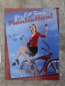 Collectable Manhattan cruiser bicycle, product line catalog