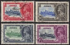 Used Multiple Jamaican Stamps (pre-1962)