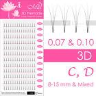Lotus XD Premade Volume Fan Lash Eyelash Extensions 3D 4D 5D 6D 7D Mix Mink Lash