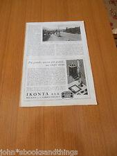 1938 LE BANCHINE CICLISTICHE PISTE CICLABILI VECCHIA BICICLETTA EPOCA ANNI 30