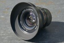 Yashica ML 24mm, 1:2.8 Lens With Tokina AT-X 28-85 Hood - For Contax / Yashica