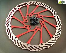 Disque rouge 160 VTT disque 160mm rouge COOMA - RED MTB disc 160mm COOMA NEW