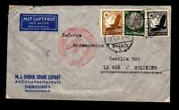 Germany May 20 1937 Flight Cover to Bolivia (II) - L17501