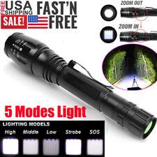 Ultra Brightest 990000Lumens Police LED Flashlight T6 Torch Lamp Military Light