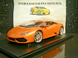 AUTOart 74603 LAMBORGHINI HURACAN LP610-4 ORANGE 2014 1:18