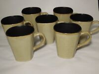 Home Trends RAVE TAUPE SQUARE Mugs Set of 7