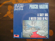 """SP PROCOL HARUM  """"A whiter shade of pale""""  Polydor  2121 200  France  (1972)"""