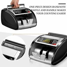 2 In1 Nx 510 Business Grade Money Counter Machine Withcounterfeit Bill Detector Us
