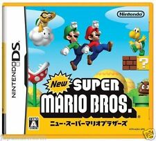 Used DS New Super Mario Bros.  NINTENDO JAPANESE IMPORT