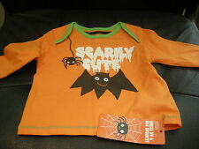 M&s Halloween Baby scarily Mignon T-Shirt-Jusqu'à 3 Mois-BNWT