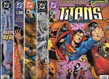 The Titans Lot Of 5 - #2 #3 #4 #5 #6 Green Lantern (Nm-) Teen Titans