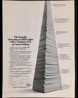 Original 1984 IBM Computers & Copiers Full-Page Advertisement ~ Vintage Print Ad