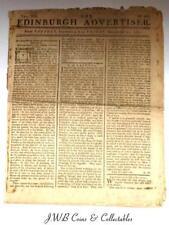Antique Newspaper - Vol.VIII The Edinburgh Advertiser 1767 - Section On America