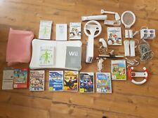 Nintendo wii konsole+ Spiele ,Mario Kart