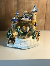 Disney Beauty and The Beast Musical Snow Globe Castle A2-22