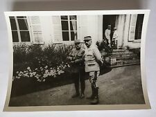 ww2 photo press General Frauchet  d'Esperey  1915   B510