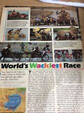 P1-1 Ephemera Article The Kinetic Sculpture Challenge Wacky Race 2 Pages