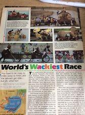 P1-1 Ephemera Article The Kinetic Sculpture Challenge Wacky Race 2 Pages