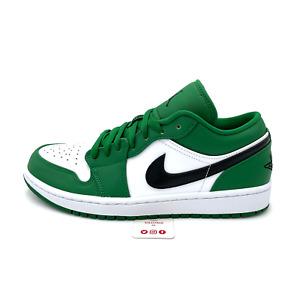 Nike Air Jordan 1 Low Pine Green (553558-301) Men's Size 7.5-10 Shoes
