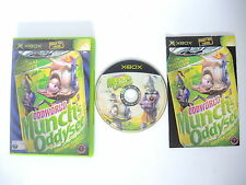 ODDWORLD MUNCH'S ODDYSEE complete in box with manual XBOX videogame PAL