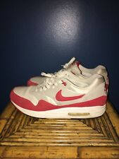 Nike Air Max 1 Og Red Mens Rare Size 10.5 2009