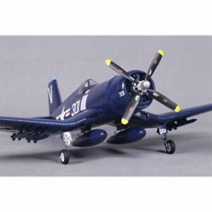 F4U Corsair V2 Blue RTF, 800mm Ready To Fly, Brushless RC Airplane