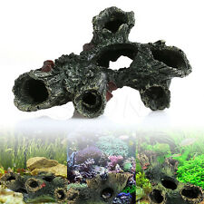 Aquarium Trunk Bole Driftwood Fish Tank Resin Underwater Ornaments Decoration