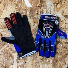 Trials Mountainbike Enduro Blue Raw Sports Gloves  - Adult