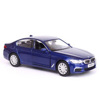 1:36 Scale BMW M550i Model Car Diecast Gift Toy Vehicle Kids Pull Back Blue