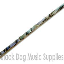 Celluloide abbalone guitar binding / inlay 2mm x 1.5mm x 1700mm long