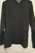 OLD NAVY Men's Gray V Neck Sweater Size L Acrylic Wool Blend