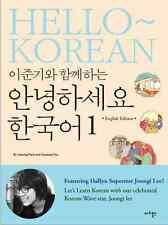 Hello Korean Vol.1 English ver Lee Jun Ki Learn Korean Book Language Bestseller