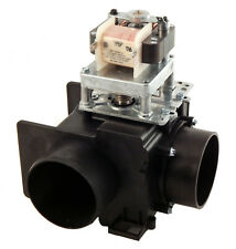 G338129 Continental Girbau Drain Valve w/o overflow 230V 50/60Hz 3 inch 90°