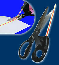 1 PCS Laser Guided Scrapbooking Sewing Scissors for Paper Cutting