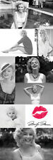 MARILYN MONROE HISTORY OF BEAUTY Classic Huge Door-Sized Fashion Legend POSTER