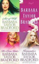 BARBARA TAYLOR BRADFORD ___ 4 BOOK SET ___ BRAND NEW ___ FREEPOST UK