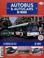 HEULIEZ GX 317 RATP FASCICULE HACHETTE GX317 AUTOBUS BUS RENAULT