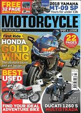 MOTORCYCLE SPORT & LEISURE Magazine (No.690) MARCH 2018