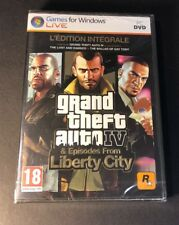 Grand Theft Auto IV The Complete Edition / GTA 4 [ FRENCH Edition ] (PC DVD) NEW