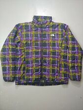 The North Face Women's Jacket Sz XL Puffy Coat inner liner all over print winter
