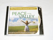 RARE CD My Favorite Worship Songs Peace In the Valley Power Gospel Music PWPWXX
