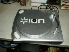MINT ION USB Turntable Vinyl Record Archiver to PC w/Anti-Static Mat PLAYS GREAT