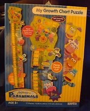 Briarpatch Jim Henson's Pajanimals My Growth Chart Puzzle -- NEW