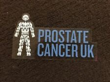 Prostate Cancer UK Man of Men Car Sticker Not Badge *official Fundraisers*