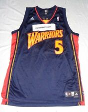 663635a7 Baron Davis #5 Golden State Warriors Adidas NBA Basketball Jersey 3XL  Length +2